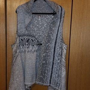 NTN Free People Free Flowing Knit Vest